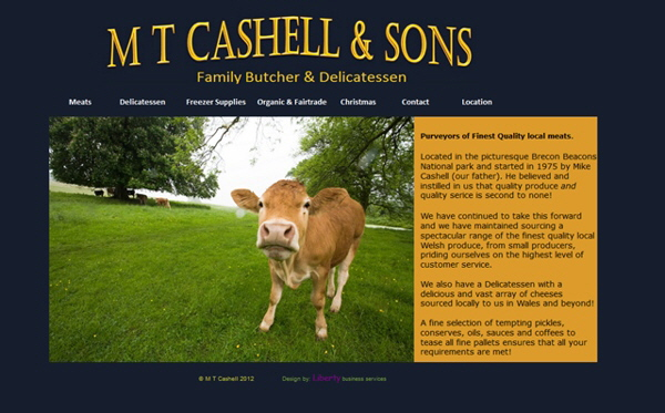 Cashell's Butchers and Delicatessen, Crickhowell