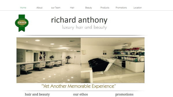 Richard Anthony Hair Salon, Cardiff