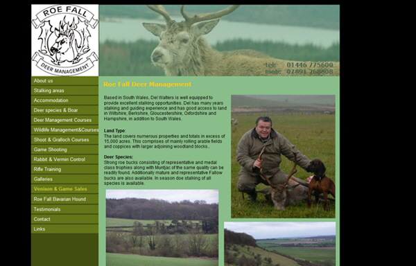 Roe Fall Deer Management, Cowbridge