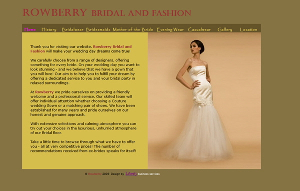 Rowberry Bridal and Fashion, Swansea