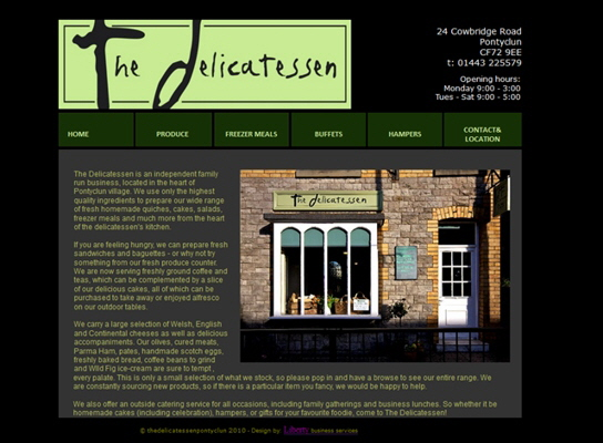 The Delicatessen, Pontyclun